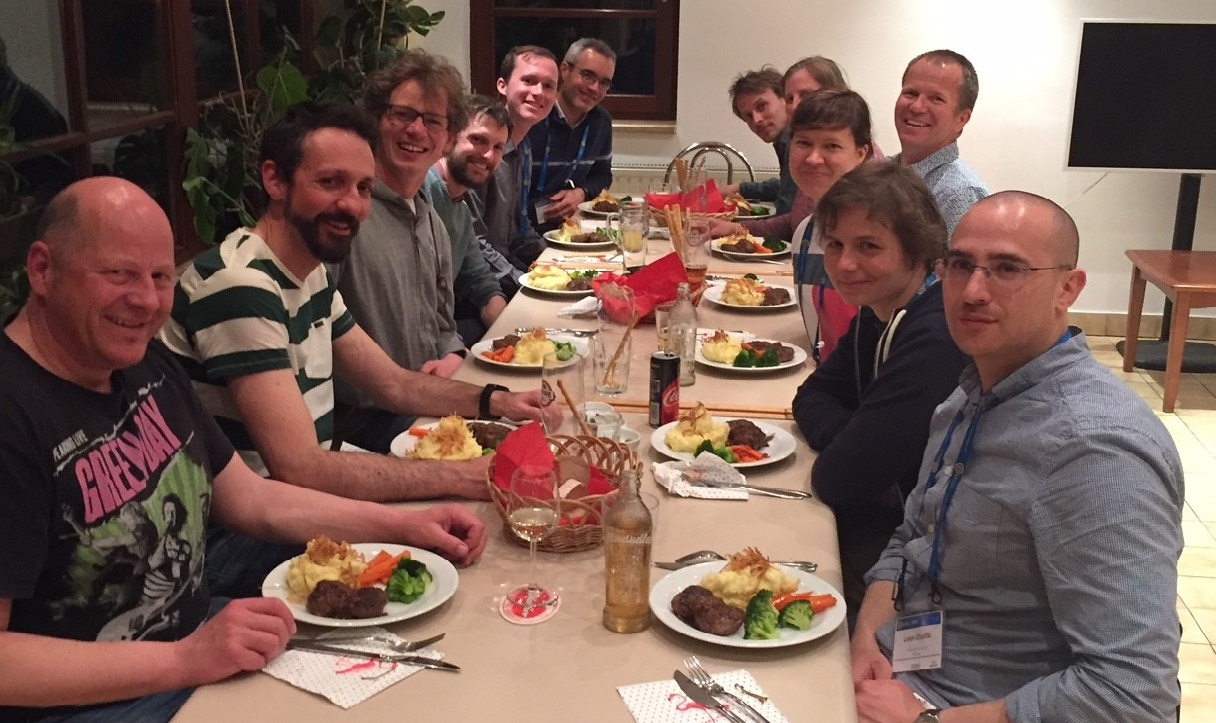 Sea Level Change meeting and dinner during the EGU 2018
