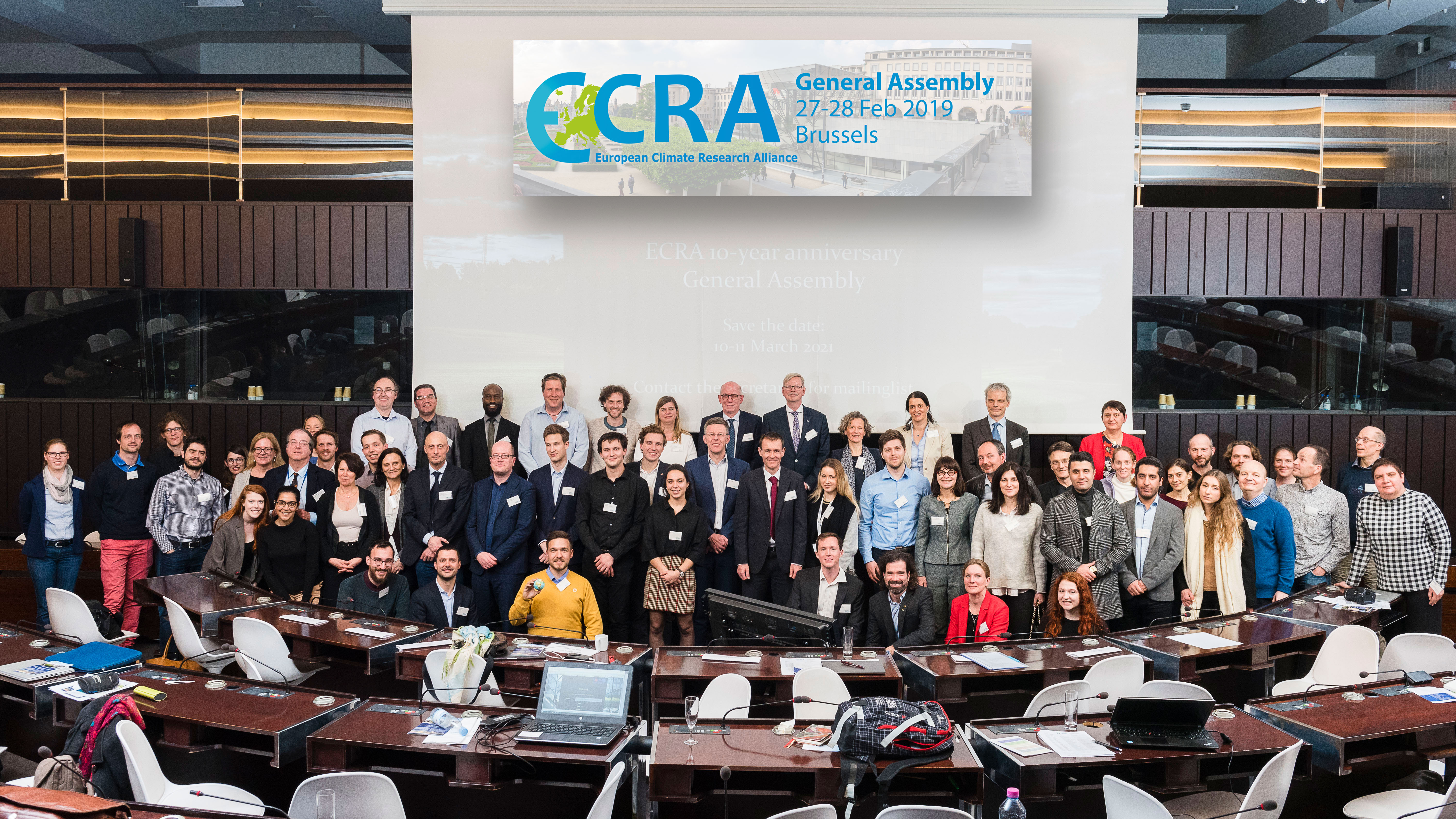Group Picture ECRA General Assembly 2019 lolcat